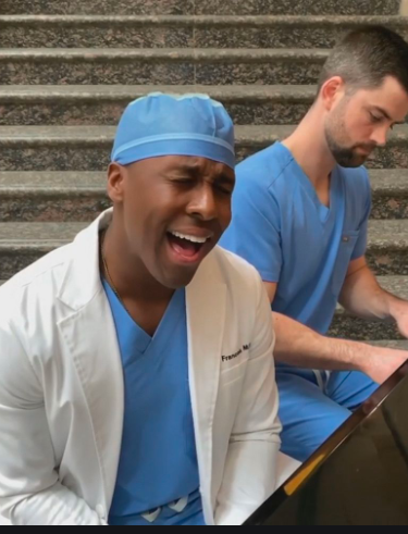 singing COVID doctors